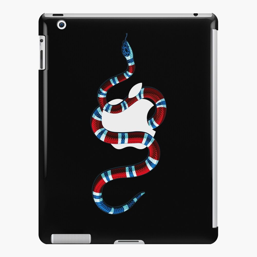 RED&BLUE SNAKE APPLE CASE- Iphone