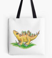 Curious Little Stego Hatchling Tote Bag