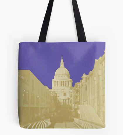 London Fruit Pop Series - Blueberry Saint Tote Bag