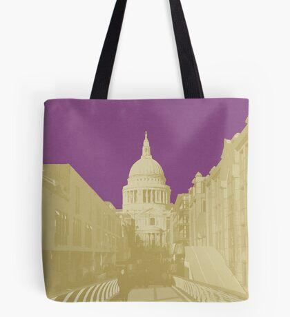 London Fruit Pop Series - Plum Saint Tote Bag