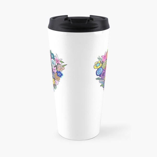 Say it with flowers Travel Mug