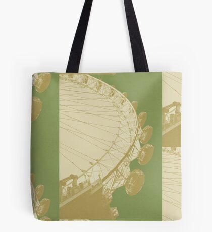 London Fruit Pop Series - Apple Eye Tote Bag