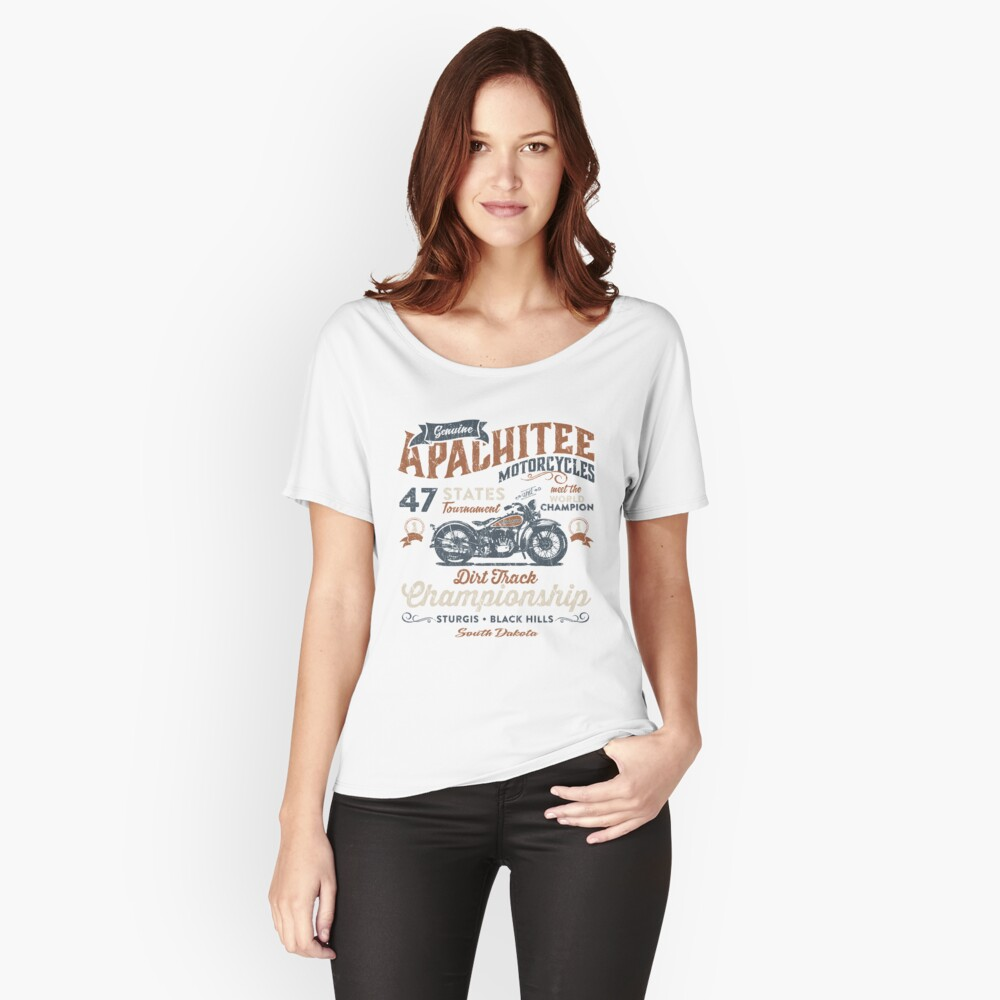 T-shirt coupe relax «Dirt Track»