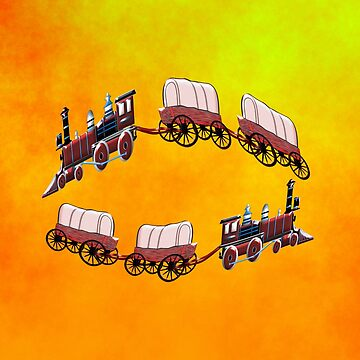 A Steam Wagon Train for kids. by ZipaC