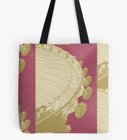 London Fruit Pop Series - Raspberry Eye Tote Bag