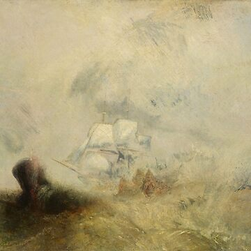 "Joseph Mallord William Turner ""Whalers"" by ALD1"