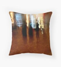 Strangers in the night..friends for a moment.. Throw Pillow