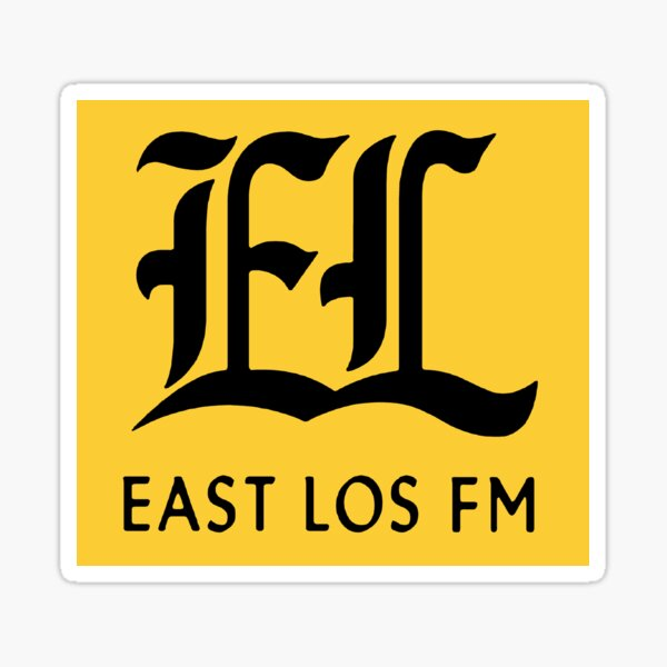 East Los FM Radio Gta V Online Grand Theft Auto V Sticker