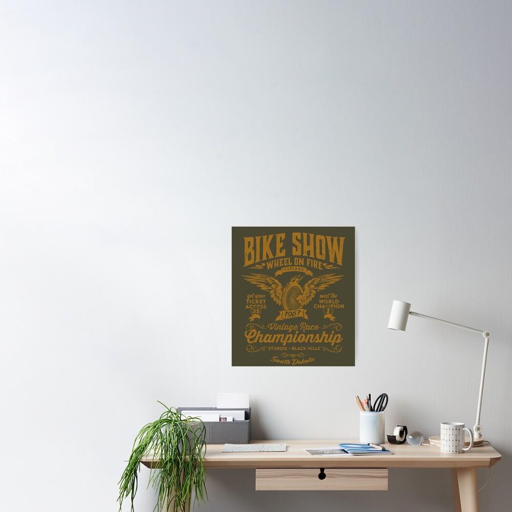 Poster «Bike Show»