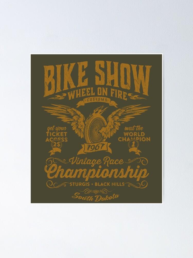 Poster ''Bike Show': autre vue