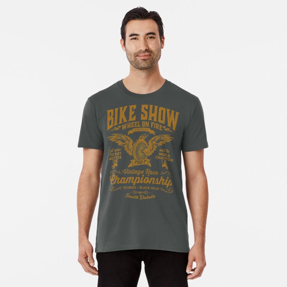 T-shirt premium «Bike Show»