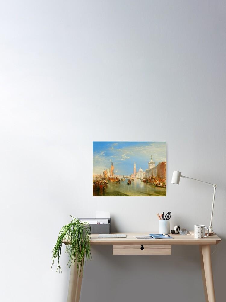 J M W Turner The Grand Canal Venice Wall Art Poster Print