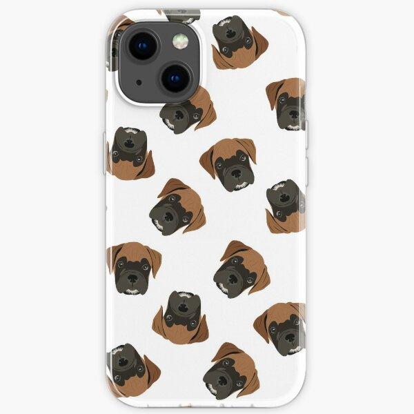 Boxer Puppy Love - © GraphicLoveShop iPhone Soft Case