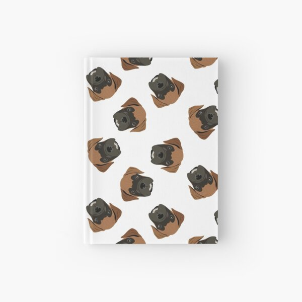 Boxer Puppy Love Hardcover Journal