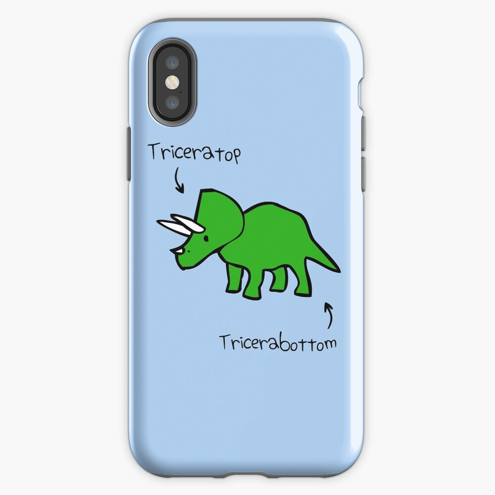 Triceratops Tricerabottom iPhone Case & Cover