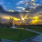Sunrise in the Target Shopping Center by TJ Baccari Photography