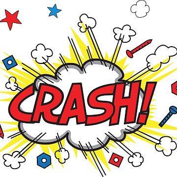 Onomatopoeia - Crash! by BenH4