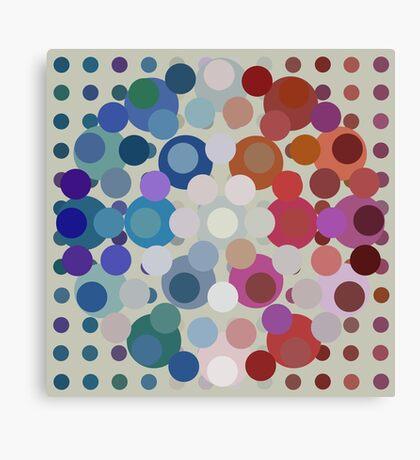 Tricolore de la Paix VI Canvas Print