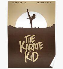 KARATE KID - Minimal Silhouette Poster Design Poster