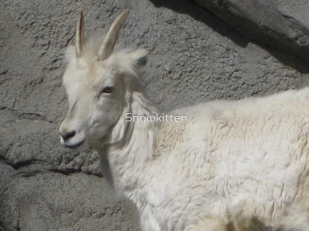 Mountain Goat by Snowkitten