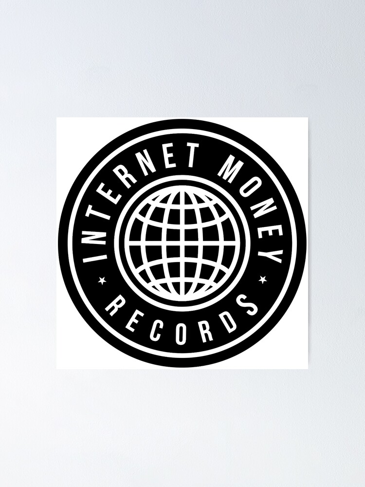 Internet Money Records Poster By Thehiphopshop Redbubble