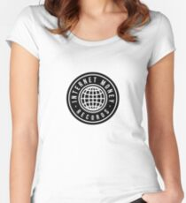 Internet Money Records Women's Fitted Scoop T-Shirt