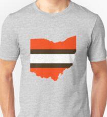 Brown & Orange State Unisex T-Shirt