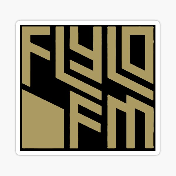 FlyLo FM radio los santos grand theft auto v online gta Sticker