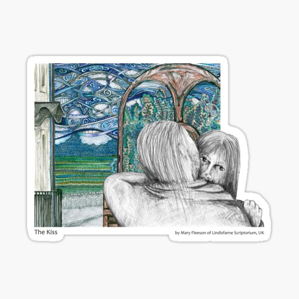 The Journey to the Cross and Beyond - Station 2 - The Kiss Sticker