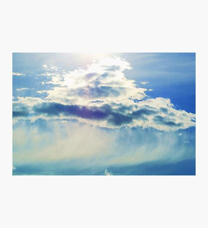 Glowing Cloud Photographic Print