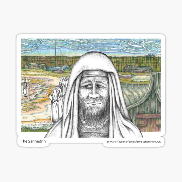 The Journey to the Cross and Beyond - Station 3 - The Sanhedrin Sticker