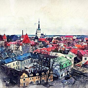 Tallinn Old Town #tallinn by JBJart