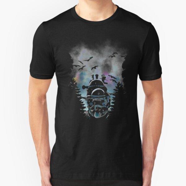 Moving castle Slim Fit T-Shirt