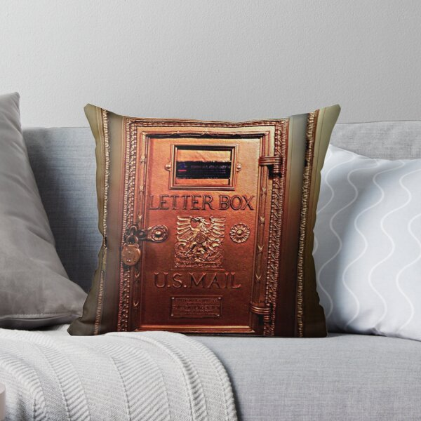 In the past © Throw Pillow