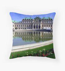 Prinz Eugen's Palace Throw Pillow