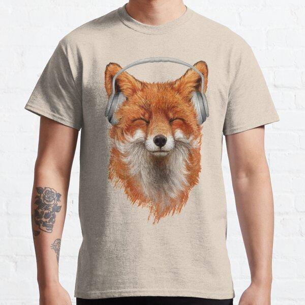 lächle wie ein Fuchs! Classic T-Shirt