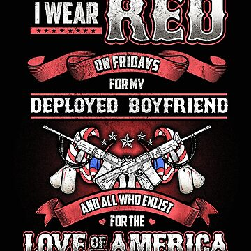 Red Friday Best Friend Support by RiffXS