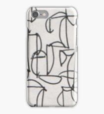 CONNECT THIS(C2012)(SKETCH SCAN) iPhone Case/Skin