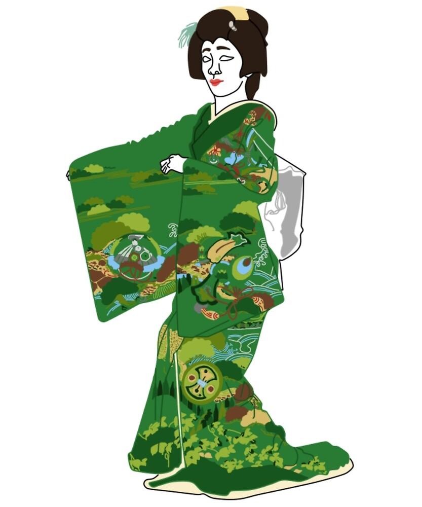 Takarabune Kimono Motif by KHRArts