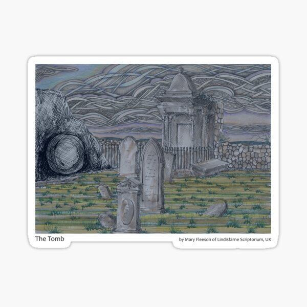 The Journey to the Cross and Beyond - Station 14 - The Tomb Sticker