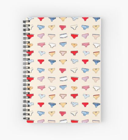 Panties ! Spiral Notebook