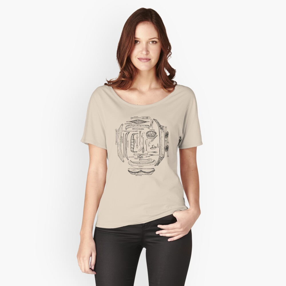 Indigenous Canoes Relaxed Fit T-Shirt