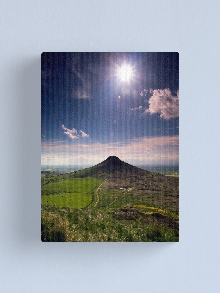 Alternate view of Roseberry Topping Canvas Print