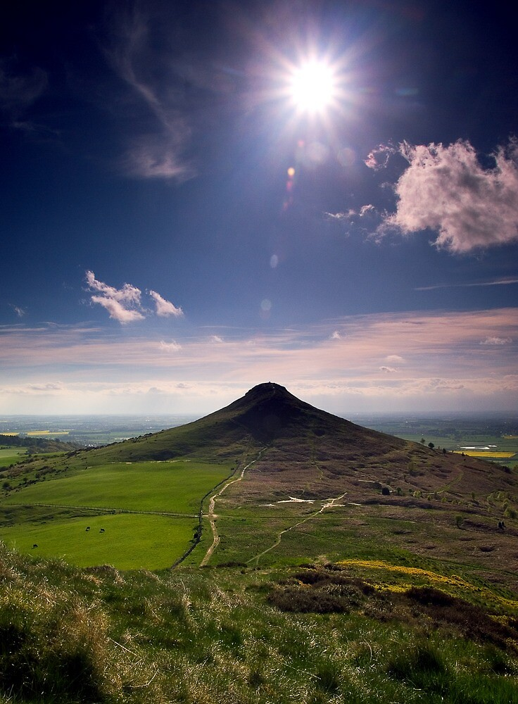Roseberry Topping by james  thow