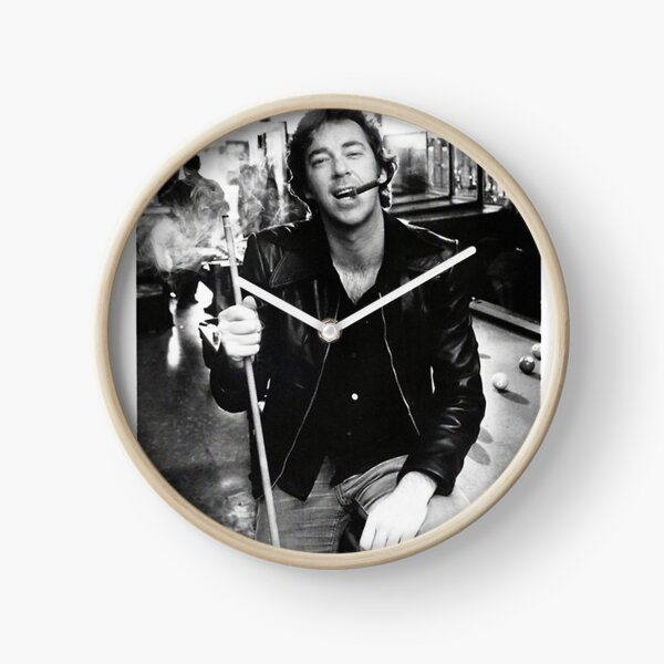 Young Boz Scaggs Smoking -  Clock