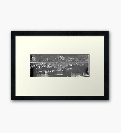 Ponte Vittorio Emanuele Framed Print