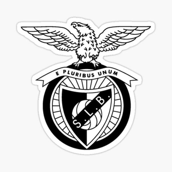 Black Benfica Logo Marchandises Sticker