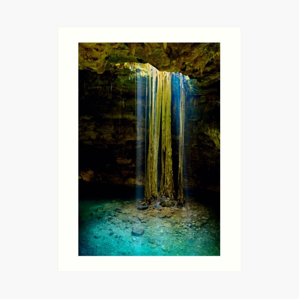 Cenote-2 Art Print