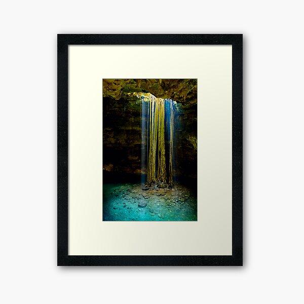 Cenote-2 Framed Art Print