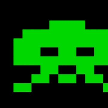 SPACE INVADERS by TOMSREDBUBBLE